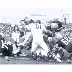 Dick Butkus Signed Bears 16x20 Photo (Schwartz COA)