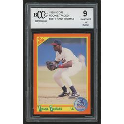 1990 Score Rookie / Traded #86T Frank Thomas (BCCG 9)
