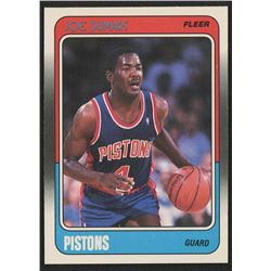 1988-89 Fleer #40 Joe Dumars