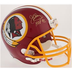 "John Riggins Signed Redskins Full-Size Helmet Inscribed ""HOF 92"" (JSA COA  Radtke COA)"