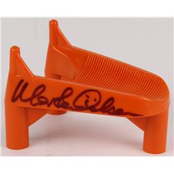 "Morten Anderson Signed Kicking Tee Inscribed ""2544"" (Radtke Hologram)"