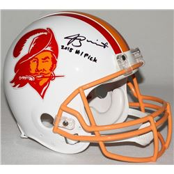 Jameis Winston Signed Buccaneers Limited Edition Full-Size Authentic On-Field Throwback Helmet Inscr