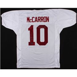 "AJ McCarron Signed Alabama Crimson Tide Jersey Inscribed ""36-4 Career Record"" (McCarron Hologram)"