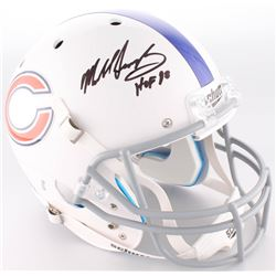 "Mike Singletary Signed Bears Full-Size Helmet Inscribed ""HOF 98"" (JSA COA)"