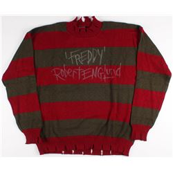 "Robert Englund Signed ""Nightmare on Elm Street"" Sweater Inscribed ""Freddy"" (JSA COA)"