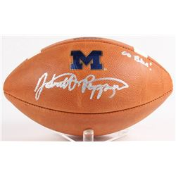 "Jabrill Peppers Signed Official College Football Playoff Game Ball Inscribed ""Go Blue!"" (JSA COA)"