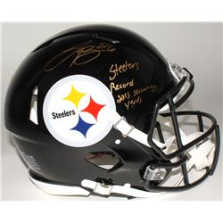 """Le'Veon Bell Signed Steelers Limited Edition Full-Size Authentic On-Field Speed Helmet Inscribed """"St"""
