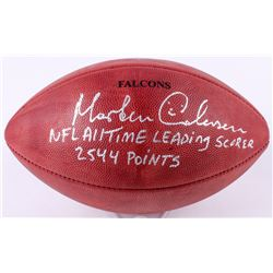 "Morten Anderson Signed ""The Duke"" Official NFL Game Ball Inscribed ""2544 Points""  ""NFL All Time Lead"