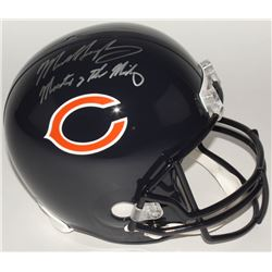 "Mike Singletary Signed Bears Full-Size Helmet Inscribed ""Monsters of the Midway"" (Schwartz Sports CO"