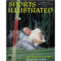 Jack Nicklaus Signed Vintage 1960 Sports Illustrated Magazine Cover 16x20 Photo (Nicklaus Hologram