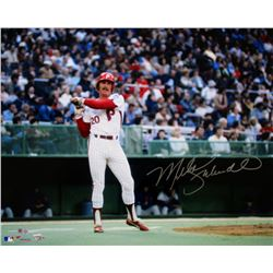 Mike Schmidt Signed Phillies 16x20 Photo (Fanatics  MLB Hologram)