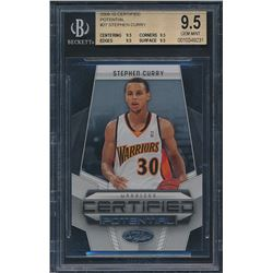 2009-10 Certified Potential #27 Stephen Curry (BGS 9.5)