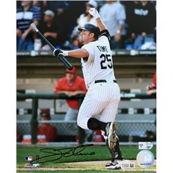 Jim Thome Signed White Sox 8x10 Photo (Fanatics  MLB Hologram)
