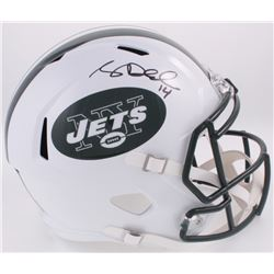 Sam Darnold Signed Jets Full-Size Speed Helmet (Darnold Hologram)