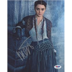 "Maisie Williams Signed ""Game of Thrones"" 8x10 Photo (PSA Hologram)"
