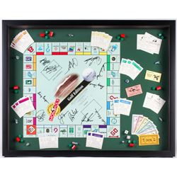Monopoly Golf Edition 23.5x26.5 Custom Framed Board Game Display Signed by (12) with Gary Player, Ja