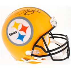 Le'Veon Bell Signed Steelers Throwback Full-Size Authentic On-Field Helmet (JSA COA)
