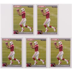 Lot of (5) 2004 Topps Total #400 Larry Fitzgerald RC