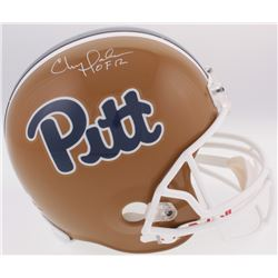 "Chris Doleman Signed Pitt Panthers Full-Size Helmet Inscribed ""HOF 12"" (Radtke COA)"