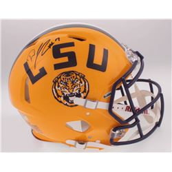 DJ Chark Signed LSU Tigers Full-Size Authentic On-Field Speed Helmet (Radtke COA  Chark Hologram)