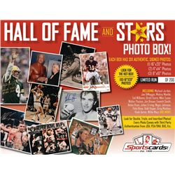 """Hall of Fame  Stars"" Sportscards.com Mystery Photo Box! (6) Signed Photos Per Box!"