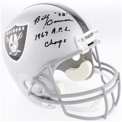 "Billy Cannon Signed Raiders Full-Size Helmet Inscribed ""1967 A.F.L. Champs"" (Radtke COA)"