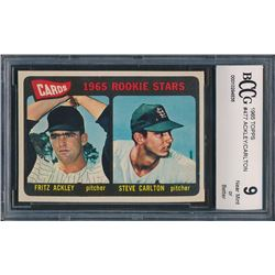 1959 Topps #461 Mickey Mantle BT / 42nd Homer (BCCG 9)