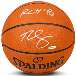 """Ben Simmons Signed Limited Edition Spalding Basketball Inscribed """"ROY '18"""" (UDA COA)"""