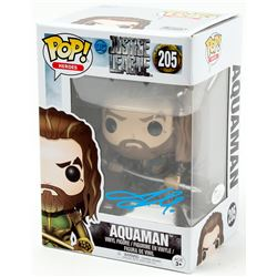 "Jason Momoa Signed ""Justice League"" Aquaman Funko Pop! Vinyl Figure (JSA COA)"