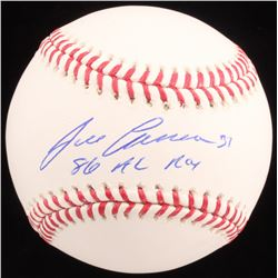"Jose Canseco Signed OML Baseball Inscribed ""88 AL ROY"" (Schwartz Sports COA)"