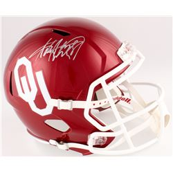 Adrian Peterson Signed Oklahoma Sooners Full-Size Speed Helmet (Fanatics Hologram)
