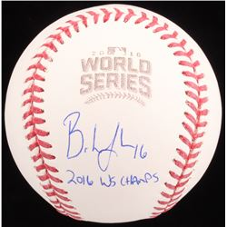 "Brandon Hyde Signed 2016 World Series Baseball Inscribed ""2016 WS Champs"" (Schwartz COA)"