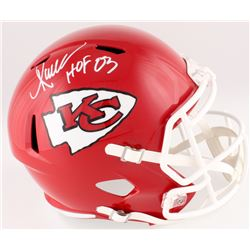 "Marcus Allen Signed Chiefs Full-Size Speed Helmet Inscribed ""HOF 03"" (Radtke COA  Allen Hologram)"