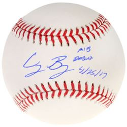"Cody Bellinger Signed OML Baseball Inscribed ""MLB Debut 4/25/17"" (MLB  Fanatics COA)"