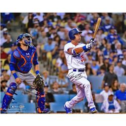 "Cody Bellinger Signed Dodgers ""Home Run"" 16x20 Photo (Fanatics Hologram  MLB Hologram)"