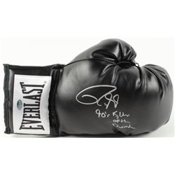 "Roy Jones Jr. Signed Everlast Boxing Glove Inscribed ""90's Fighter of the Decade"" (Schwartz COA)"