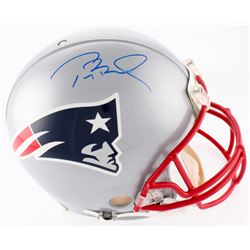 Tom Brady Signed Patriots Full-Size Authentic On-Field Helmet (TriStar Hologram  Steiner Hologram)