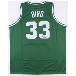 Larry Bird Signed Celtics Jersey (JSA COA)