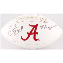 "Cornelius Bennett Signed Alabama Crimson Tide Logo Football Inscribed ""3X's 1st Team All American"" ("