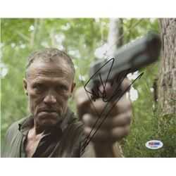"Michael Rooker Signed ""The Walking Dead"" 8x10 Photo (PSA COA)"