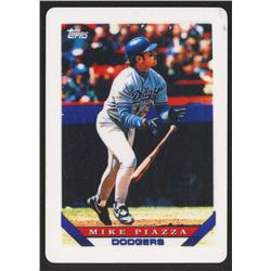Mike Piazza 1993 Topps Traded #24T Replica Porcelain Baseball Card