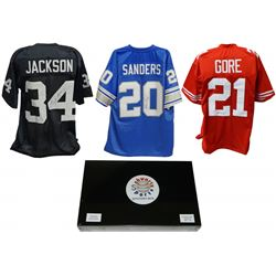 Schwartz Sports Football Superstar Signed Mystery Box Football Jersey Series 10 - (Limited to 100)