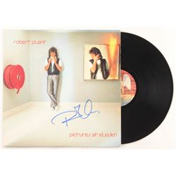 """Robert Plant Signed """"Pictures At Eleven"""" Vinyl Record Album Sleeve (REAL LOA)"""