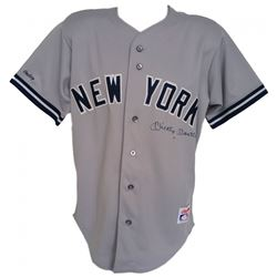Mickey Mantle Signed Yankees Rawlings Jersey (JSA LOA)