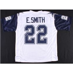 Emmitt Smith Signed Cowboys Thanksgiving Jersey (Prova  Radtke Hologram)