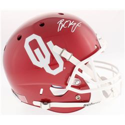 Baker Mayfield Signed Oklahoma Sooners Full-Size Helmet (Beckett Hologram)