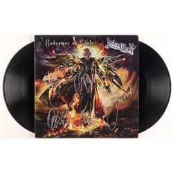 "Judas Priest ""Redeemer of Souls"" Vinyl Record Album Band-Signed by (5) with Rob Halford, Glenn Tipto"