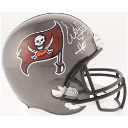 "Warren Sapp Signed Buccaneers Full-Size Helmet Inscribed ""HOF 13"" (JSA COA)"