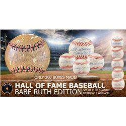 Mystery Ink Hall of Fame Baseball Babe Ruth Edition! 1 HOF Signed Baseball In Every Box!