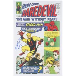 Elden Henson Signed  Daredevil  11x17 Poster Inscribed  Foggy  (JSA COA)